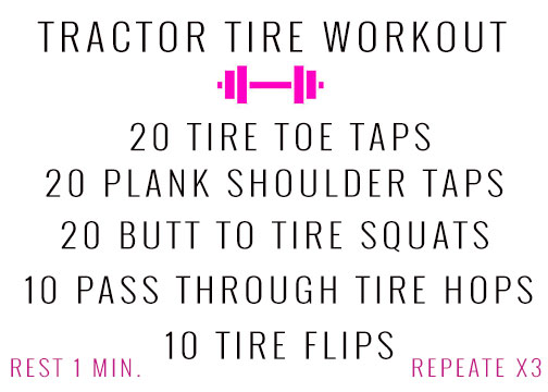 Tire Flipping Workout