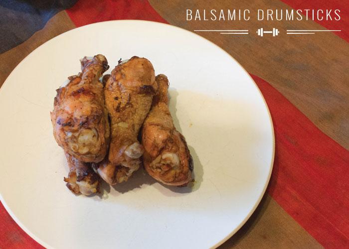 Balsamic Baked Chicken Drumstick Recipe