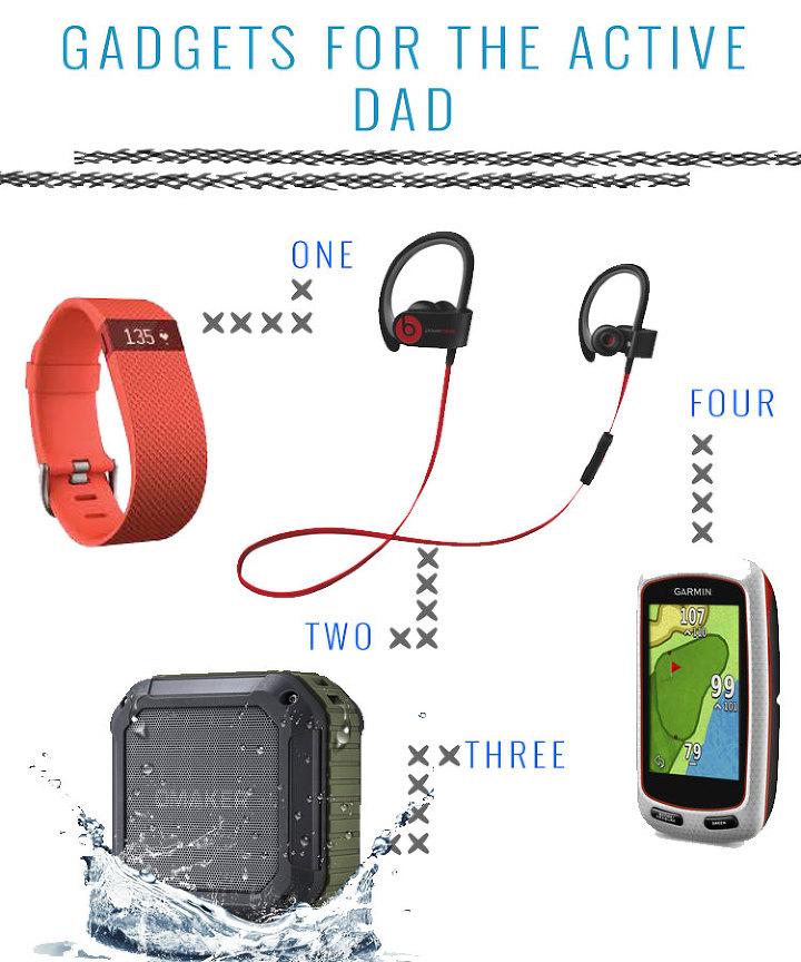 16 father 39 s day gifts for the fit dad for Cool gadgets for dads