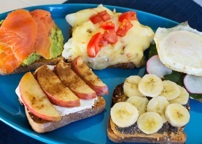 Energy Breakfast Toast