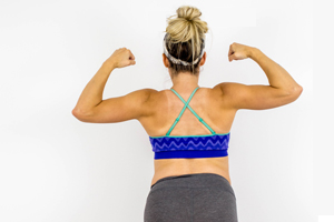 Pregnancy workout for your back