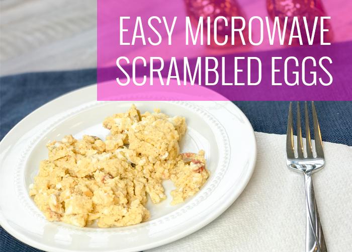 No Mess Scrambled Eggs