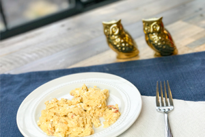 easy recipe for microwaved eggs