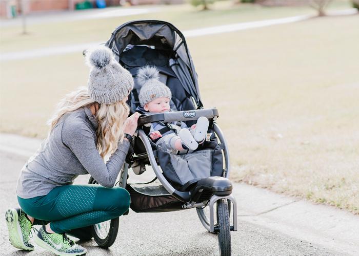 mom stroller workout idea