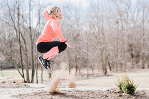 Jumping HIIT bodyweight