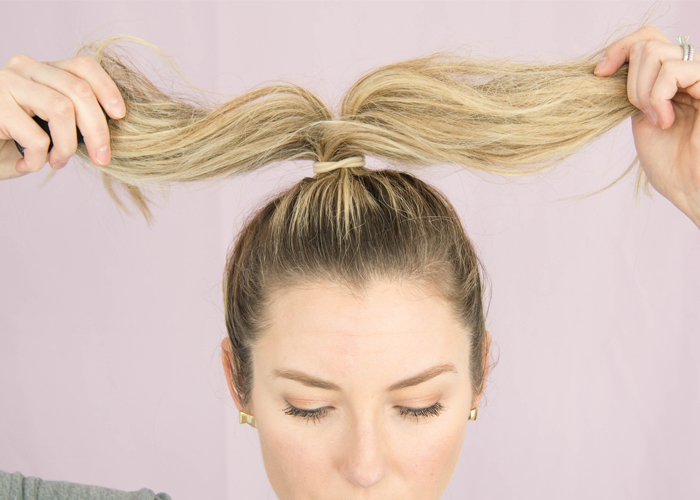 ponytail hair styles how to master the pineapple bun 3153
