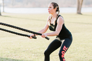 battle rope workout ideas