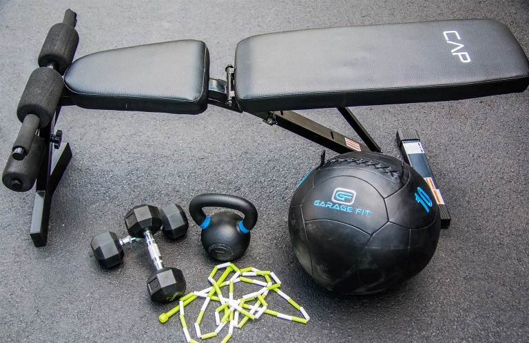 5 must have piece of fitness equipment to create your home gym